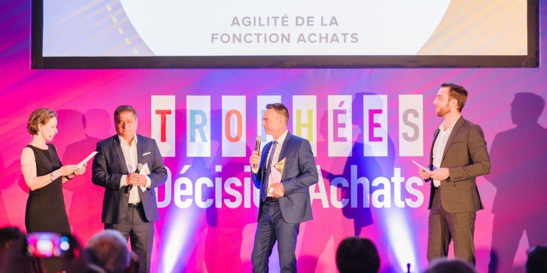 Trophées Décision Achats / CNA 2019: Le Groupe Naos remporte la catégorie 'Agilité des achats'