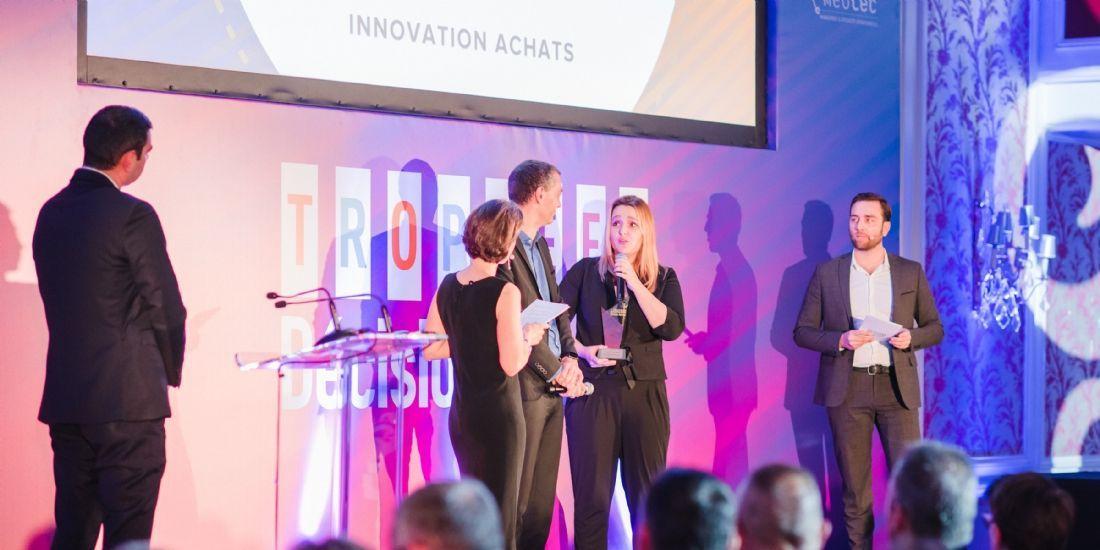 Trophées Décision Achats / CNA 2019: Le CHU d'Amiens-Picardie remporte la catégorie 'Innovation'
