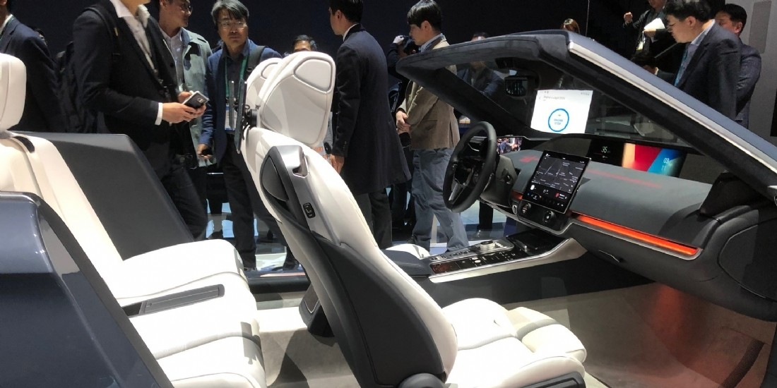 CES : la voiture autonome au centre des attentions