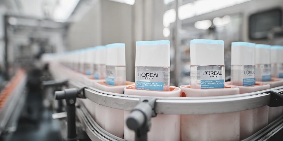 L'Oréal optimise sa logistique