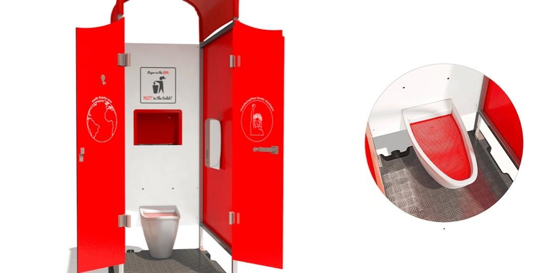 [Sourcing start-up] Voici l'urinoir féminin 'no touch' de madamePee!