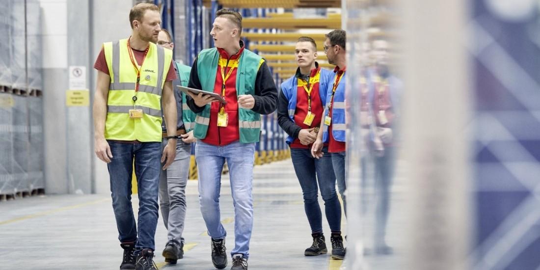 DHL Supply Chain facilite l'implémentation de robots dans les entrepôts logistiques