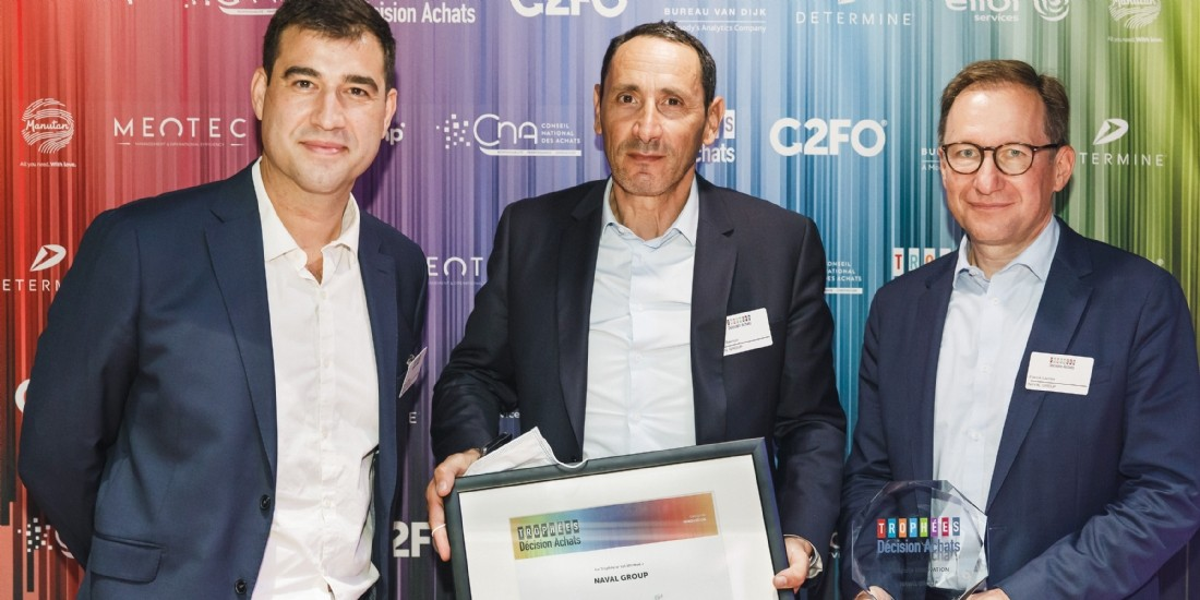 Trophées Décision Achats / CNA- Les lauréats de la catégorie 'Innovation'