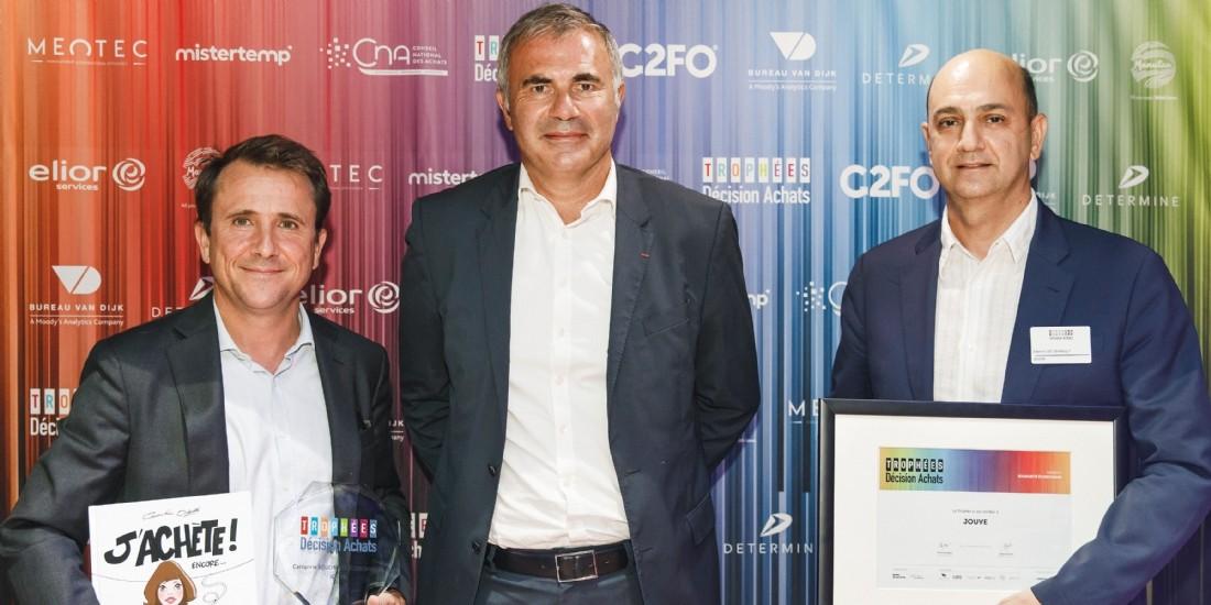 Trophées Décision Achats / CNA- Le Trophée de la Solidarité économique a été décerné à ....
