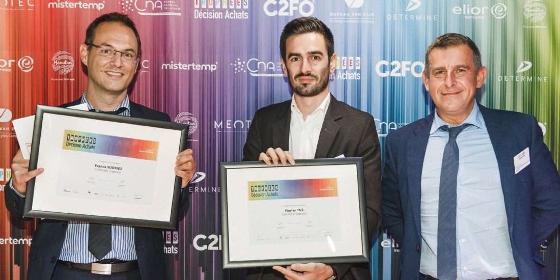Trophées Décision Achats / CNA- Les lauréats du Trophée Jeunes Acheteurs