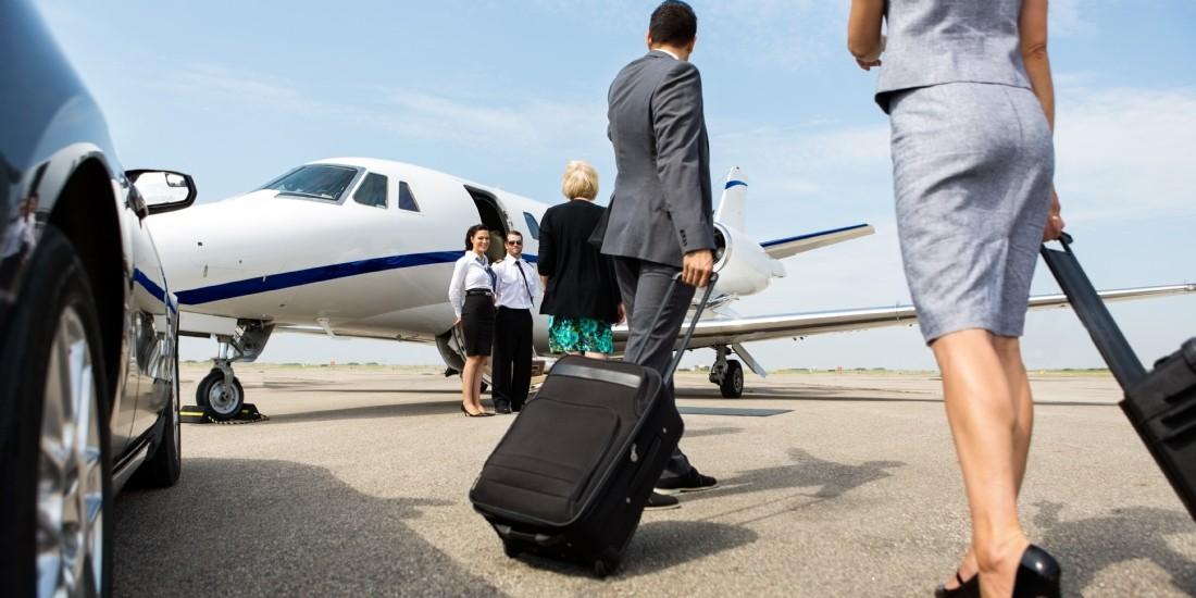 Travel - le recours aux jets privés progresse