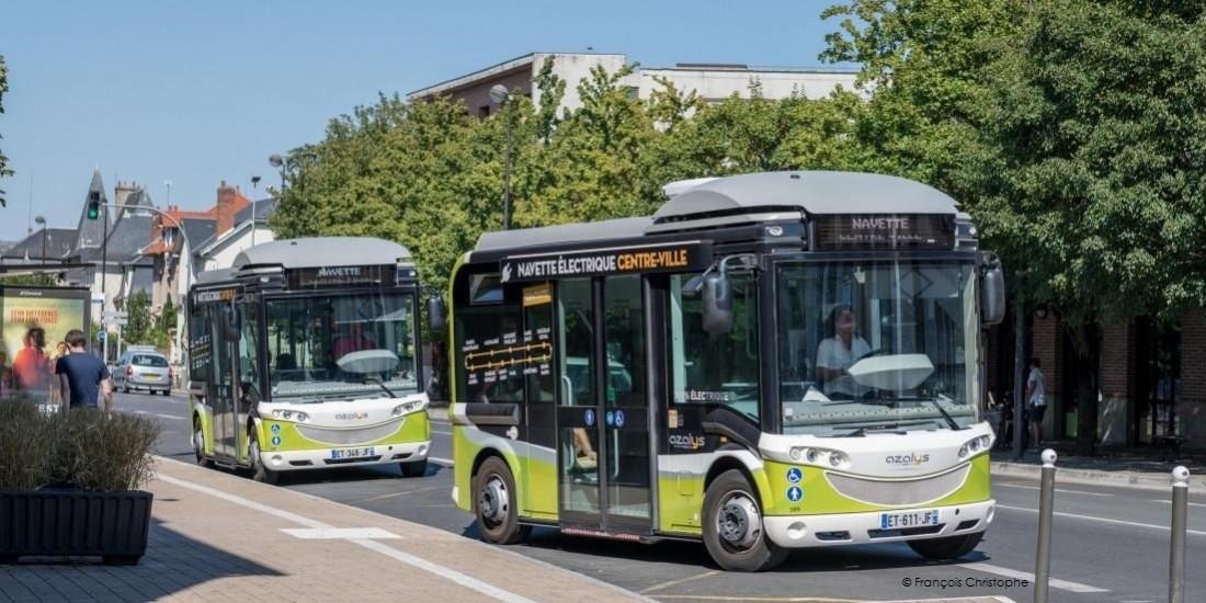 La Communauté d'Agglomération de Blois parie sur les bus électriques