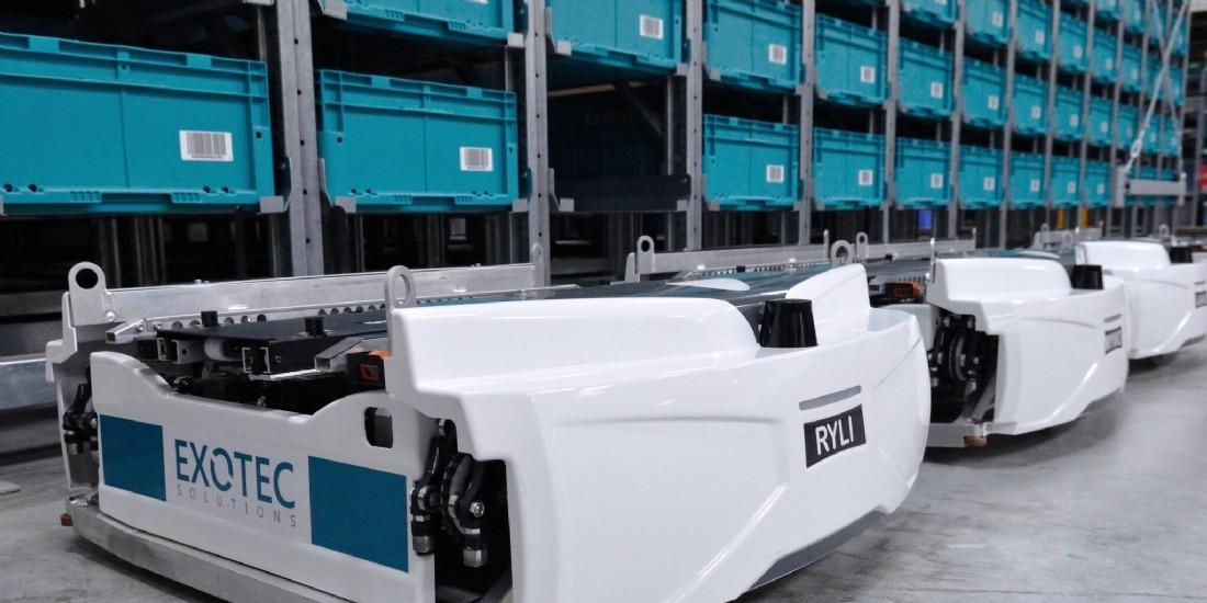 Decathlon s'associe à Exotec pour accélérer sa logistique européenne