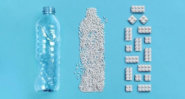 Lego dévoile sa brique recyclée