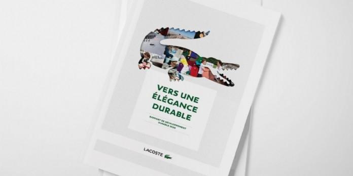 Lacoste publie son premier rapport de développement durable