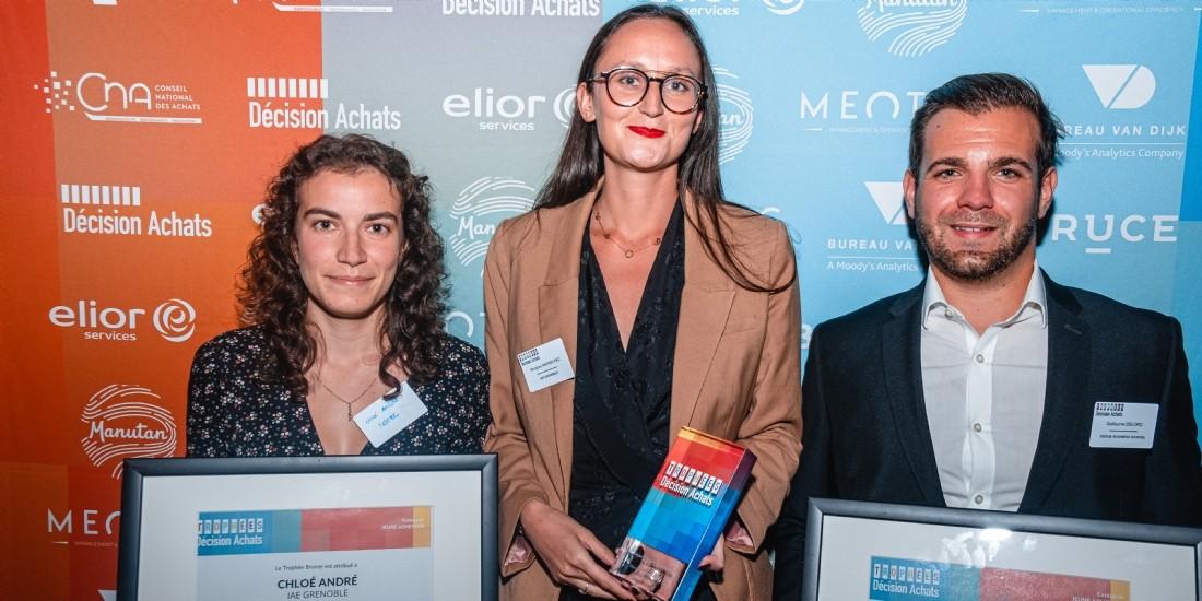 Trophées Jeunes acheteurs : Morgane Mennechez (Desma), remporte l'or