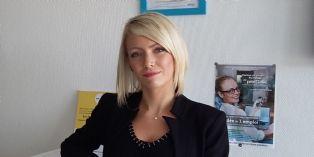 Audrey Becousse, responsable achats du pôle industrie de Galilé