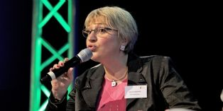 Aline Aubertin, directrice des achats EMEA de GE Medical Systems